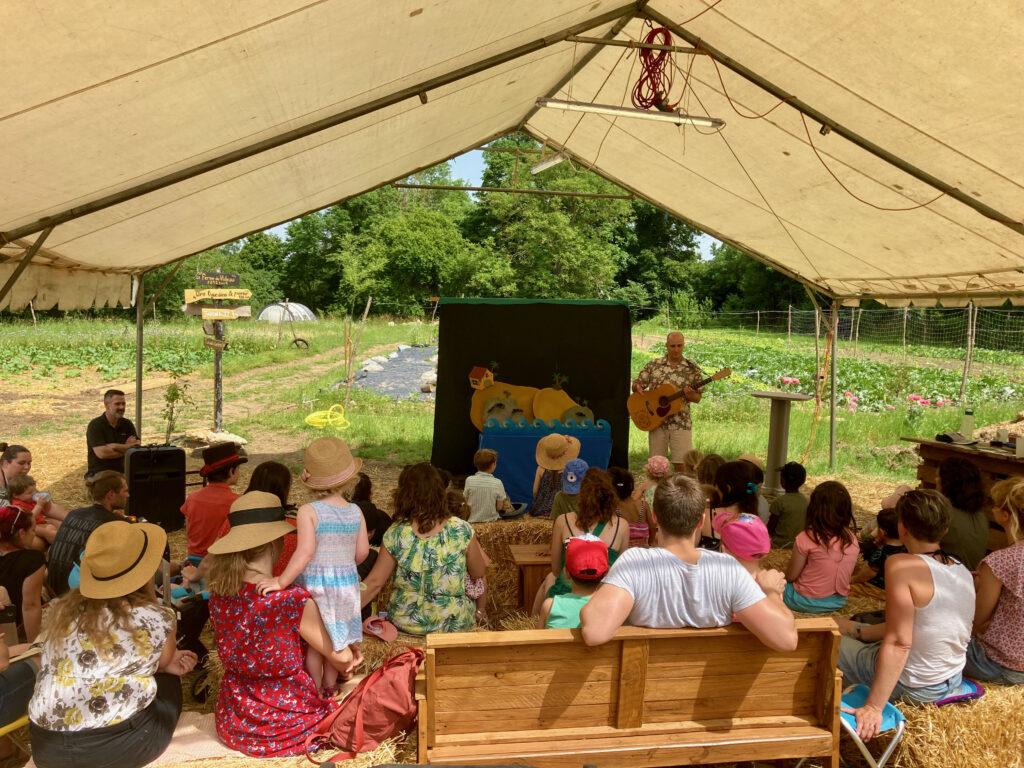 Week-end spectacles pour enfants en juin 2021, une belle réussite !